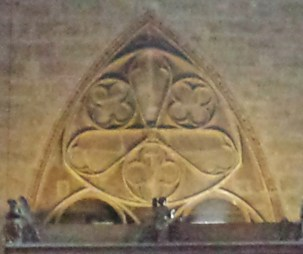 Decoration Above Confessional