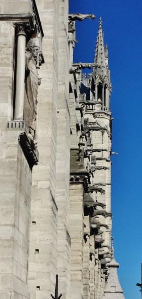 Exterior Detail of Gargoyles