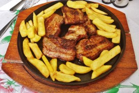 Spare Ribs and Fries
