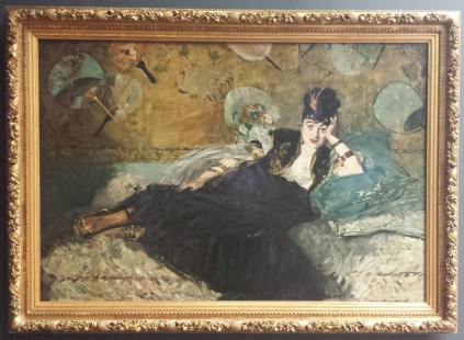 Woman with Fans by Edouard Manet