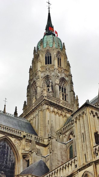 Bayeux Cathedral Central Spire