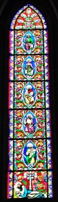 Bayeux Cathedral Jesse Tree-stained-glass-window
