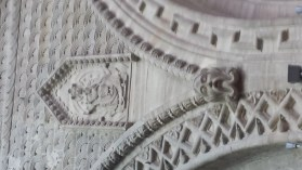 Bayeux Cathedral Romanesque Ornament 3