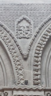 Bayeux Cathedral Romanesque Ornament 4