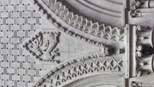 Bayeux Cathedral Romanesque Ornament 6