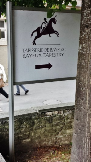 Bayeux Tapestry Museum Sign