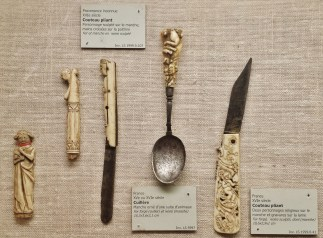 Collection of Ivory Handled Cutlery