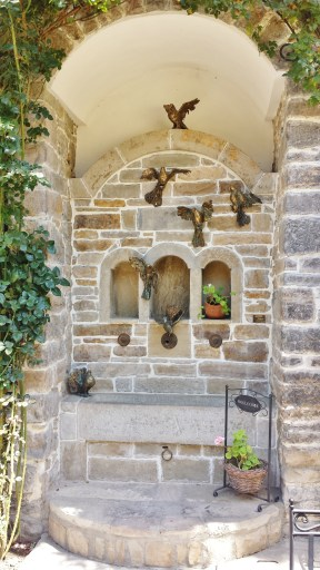 Hadji Nikoli Inn Courtyard Shrine