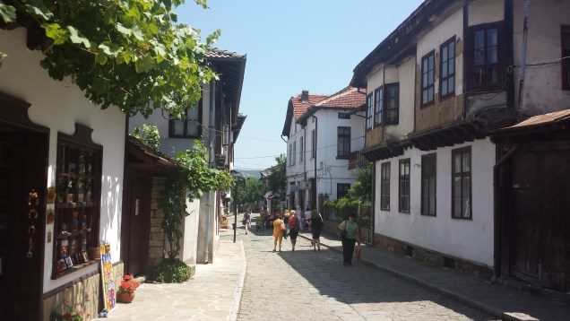 Street of Shops in Tryavna