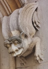 Third Gargoyle on Palais de Justice Exterior