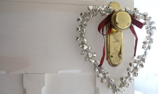 decorative bell heart