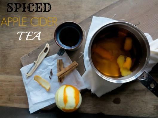 Spiced Apple Cider Tea