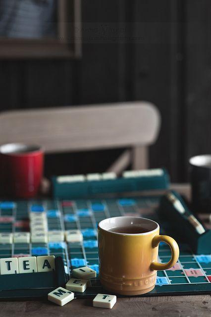 tea & scrabble