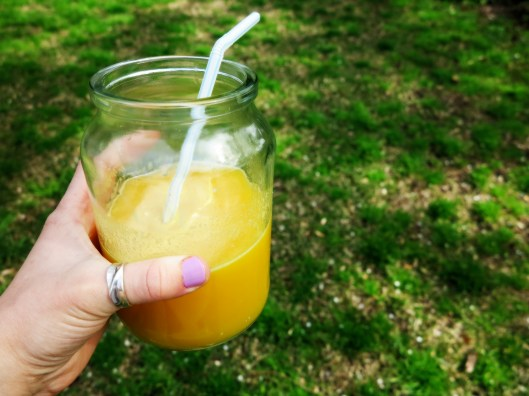 Orange, Apple & Passion Juice
