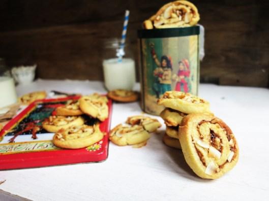Cinnamon & Almond Swirl Cookies