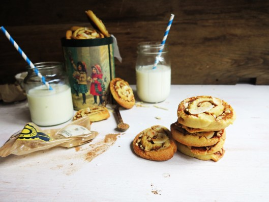 Cinnamon & Almond Swirl Cookies