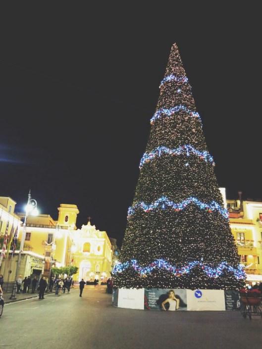 Christmas spirit in Sorrento