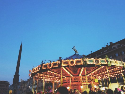 Piazza Navona carousel
