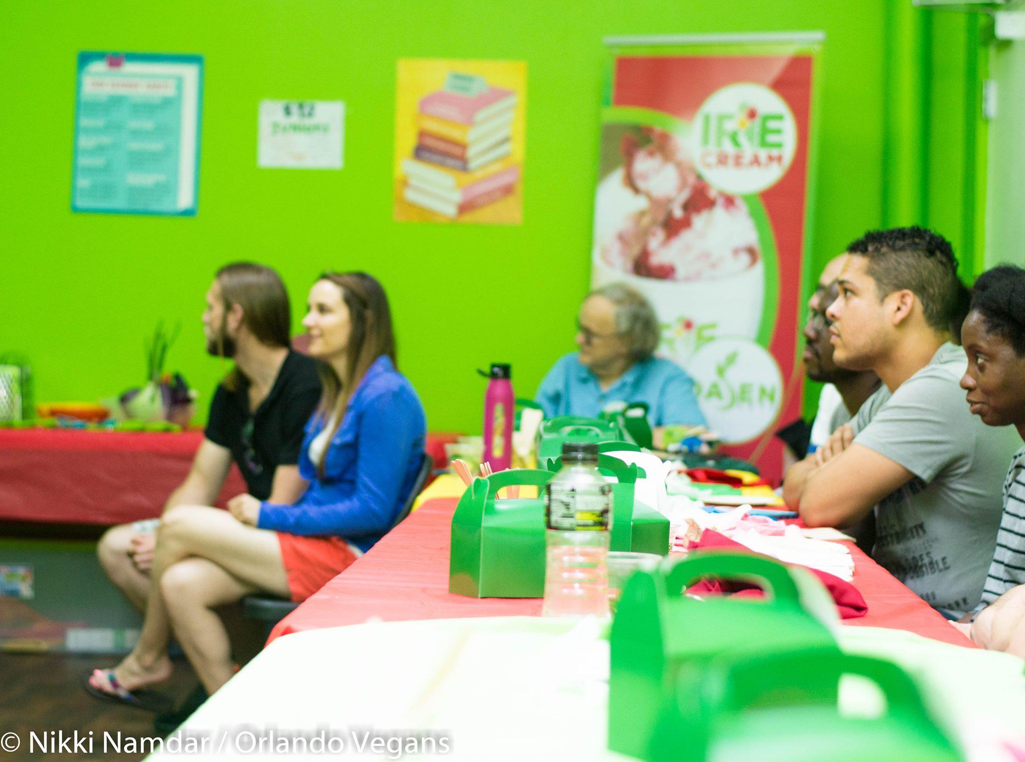 Orlando Vegans Go Jamaican - Group Cooking Class Recap