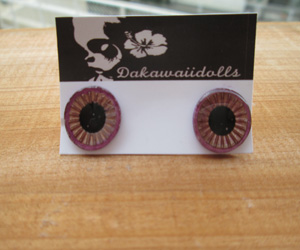 EC-14A Blythe's Eye-Chip Metal Purple and Red Gold