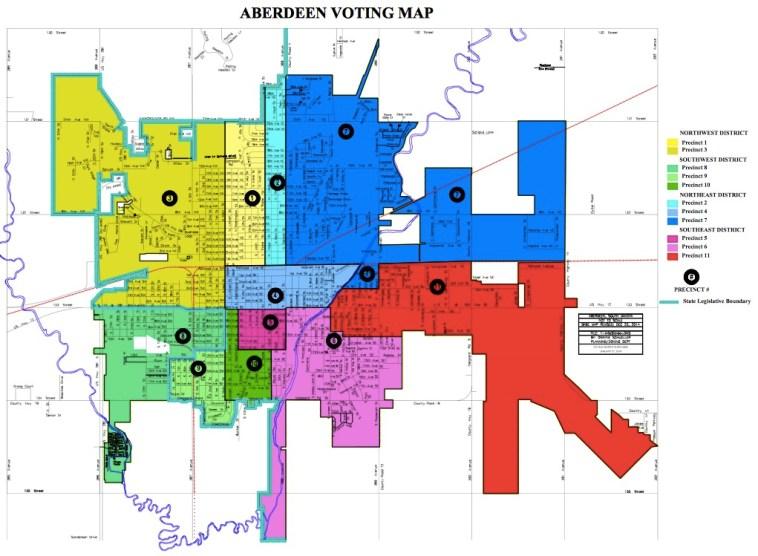 Iowa City City Council Districts