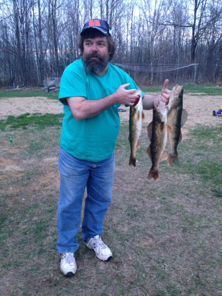 Opening day walleye