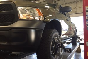 """'15 R1500 w/Eco diesel with a 6"""" lift"""