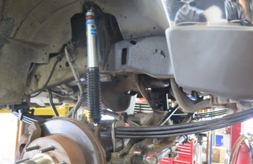 '00 F350 getting new front level off leaf-packs and Bilstein 5100 shocks
