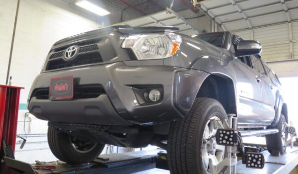 '15 Toyota Tacoma get new Bilstein lift struts and rear shocks and rear lift block