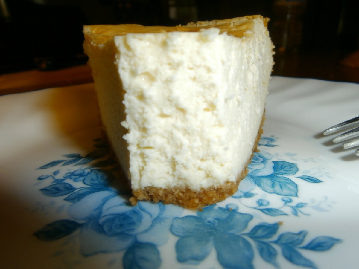 Old Fashioned Rich, Thick and Creamy Cheesecake!