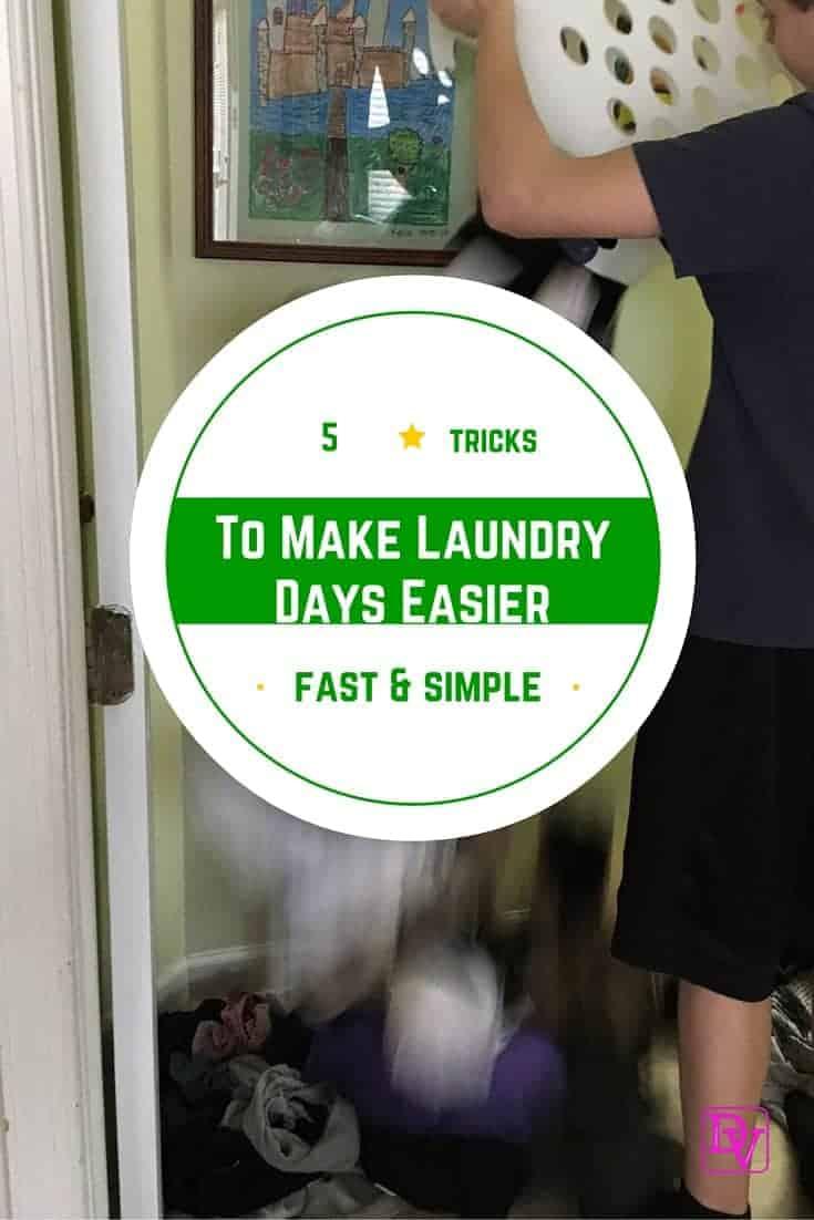 5 Tricks That Make Laundry Day Easier