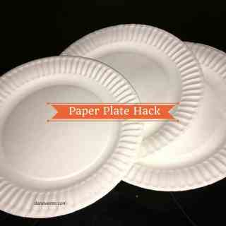Paper plates, paper, plates, disposable, usable, paper plate hack, how to paper plate hack, microwaves, bacon, disposable, allergen friendly, allergies, food allergies, bpa free, fast, easy, dollar tree, paper plates for cooking, paper plate hacks made easy, dana vento, food writer