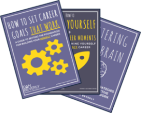 Get your 3 FREE career coaching workbooks