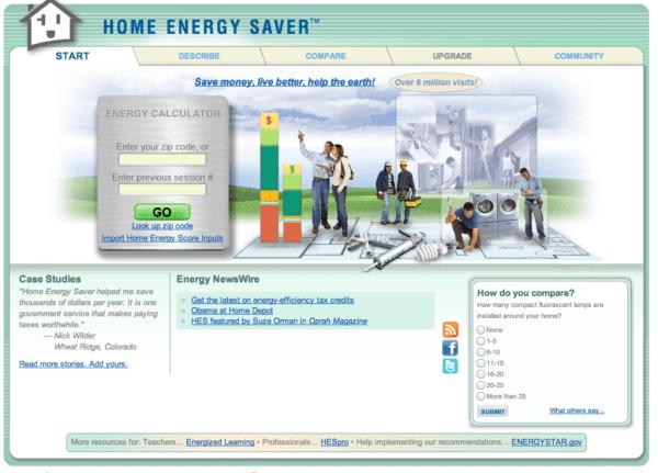 Home Energy Saver