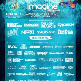 Imagine Music Festival Logo