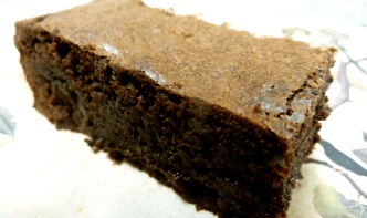 Gingerbread Zen Brownie
