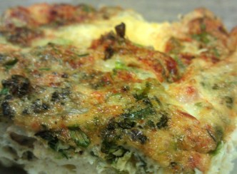 Herb Quiche with Chocolate