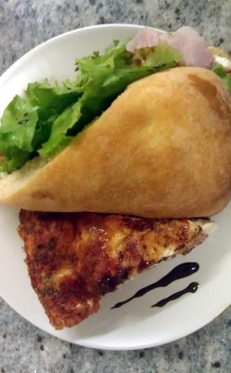 Quiche & Tuscan Sandwich