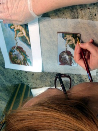 Edible Art: Creation of Adam