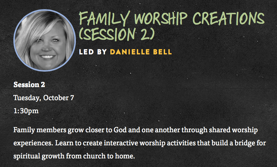 model for family worship creations