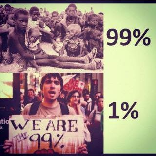 We are not the 99%