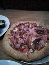 Mellow Mushroom pizza! Some of the best pizza in the US.