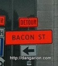 BACON ST.!