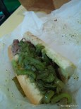Italian Beef at Johnnie's Beef in Arlington Heights, IL.