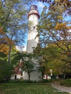 Gross Point Lighthouse in Illinois.