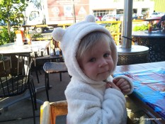 Bundled up cuteness