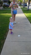 Bunny footprints!