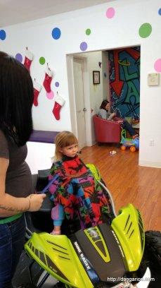 Getting a hair cut
