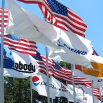 Bring out the corporate flags to celebrate the Fourth of July
