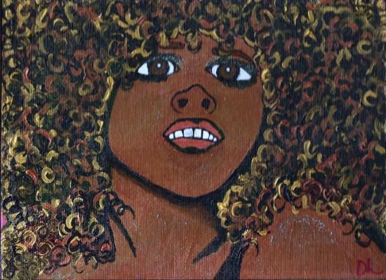 Kelis painting
